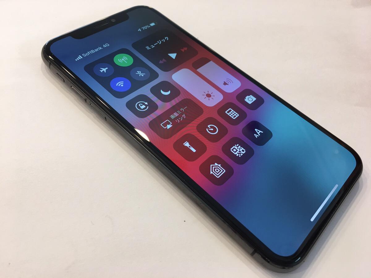 もともとiPhoneに取り付けられているのと同じ有機ELディスプレイにより仕上がりが綺麗な様子。