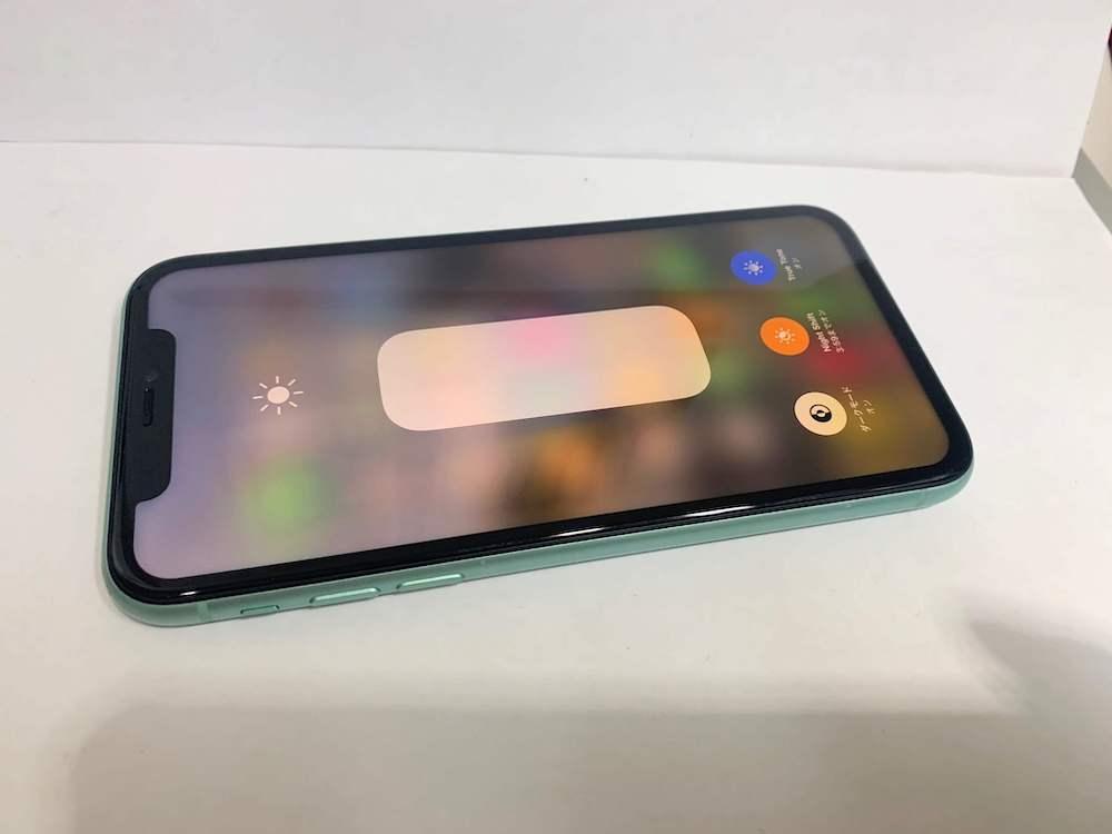 無事に動作するようになったiPhone11の画像