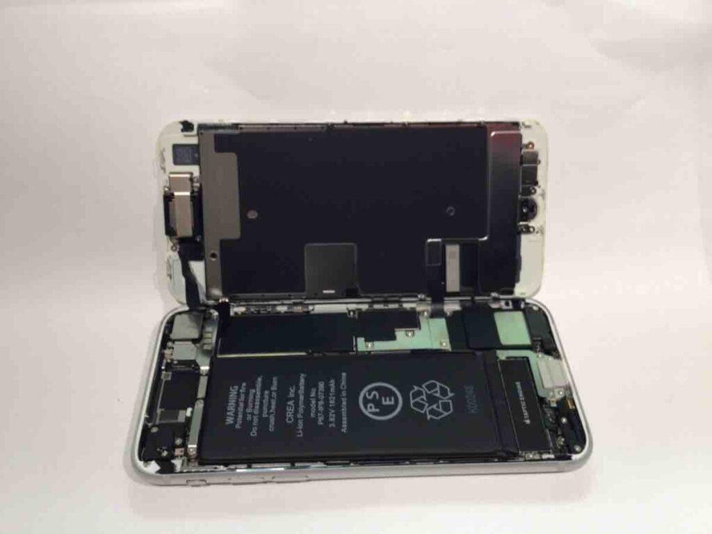 こちらは、バッテリー交換後の写真です。