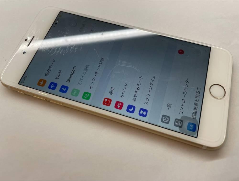 写真は、バッテリー交換後のiPhone6Plusです