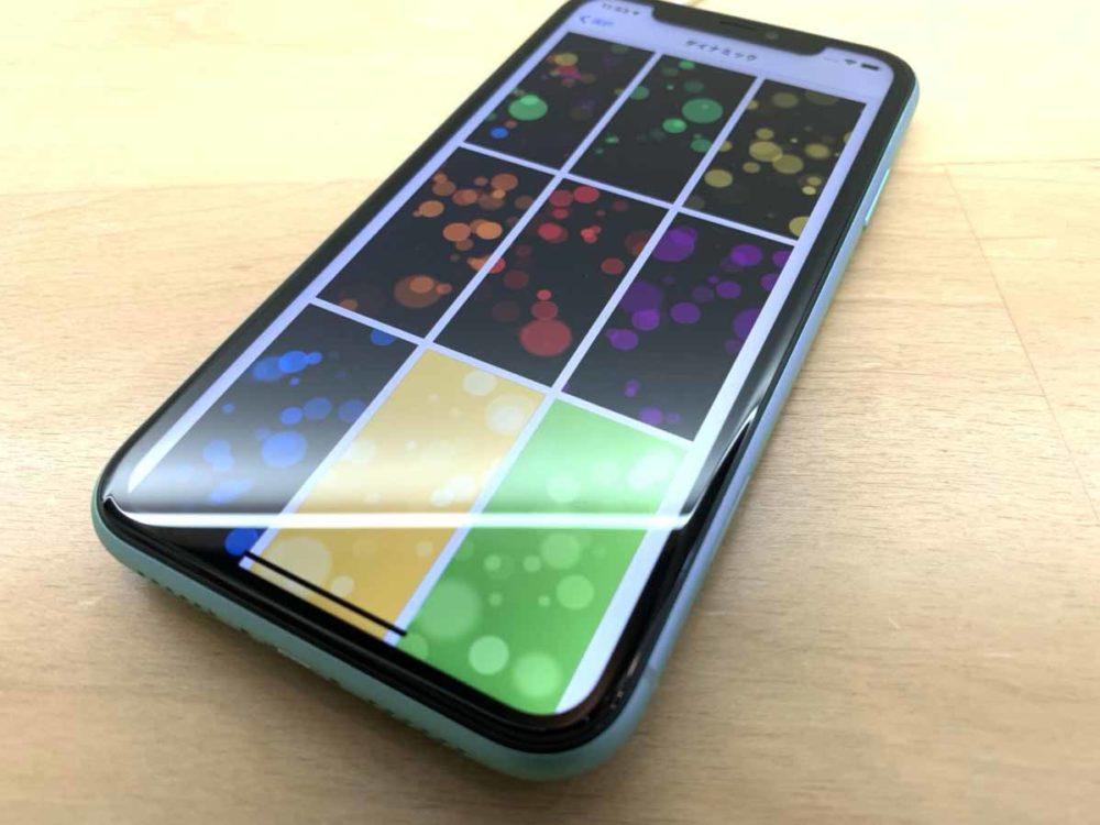 ディスプレイ交換が完了したiPhoneXRの端末