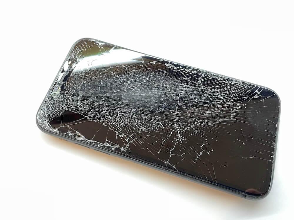 写真は、iPhone11の修理前の写真です。