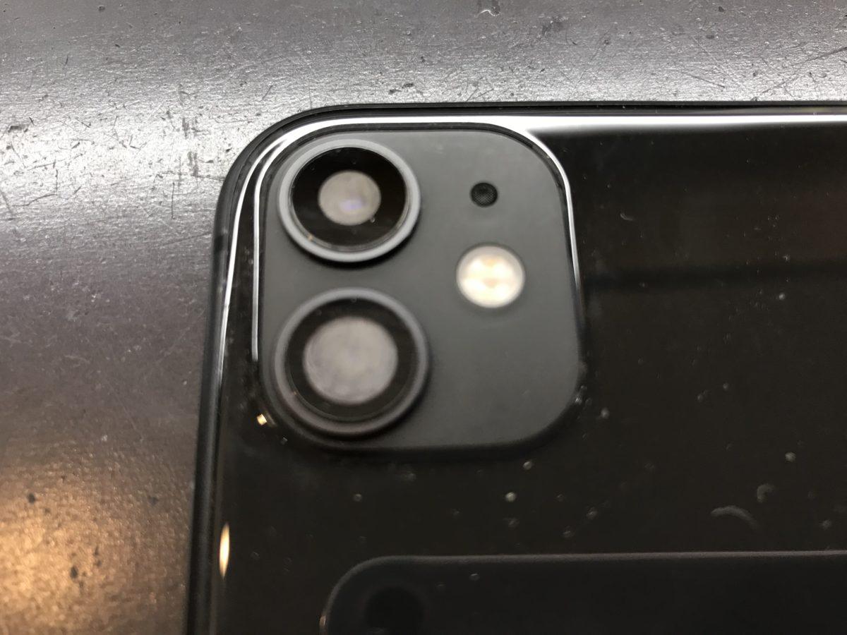 実際に水分が侵入したiPhone11の端末写真