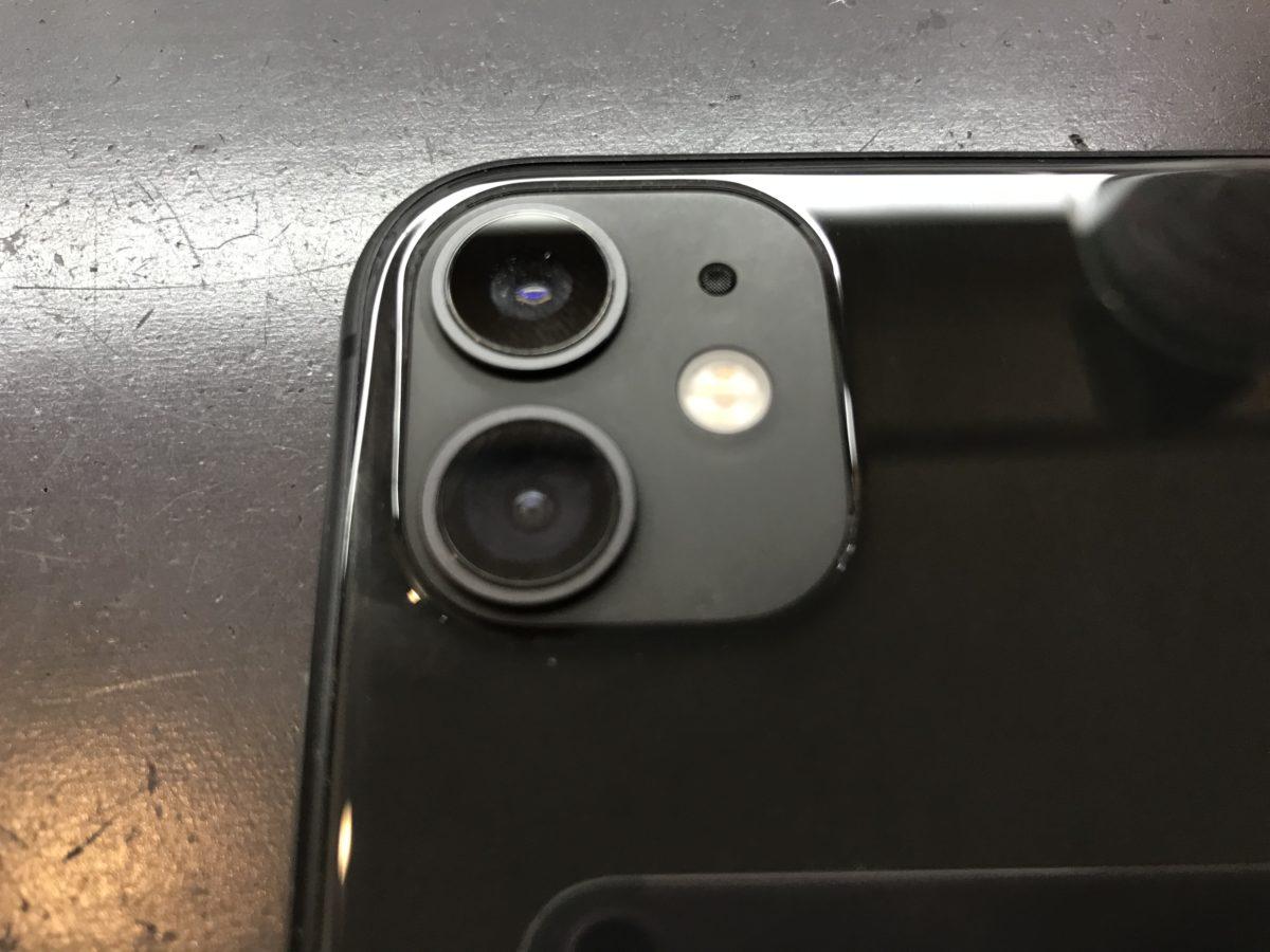 無事に水分除去作業が完了したiPhone11の写真