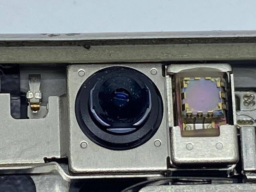 写真は、インカメラの画像です。