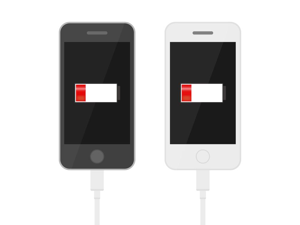 iPhoneの充電の減りが異常に早い時の主な原因は?